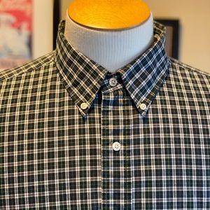 Polo Ralph Lauren Classic Green Check Shirt Sz18